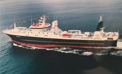 アラスカのすけそう鱈漁船